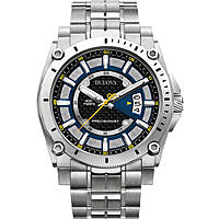watch only time man Bulova Champlain 96G131