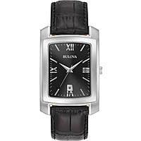watch only time man Bulova Classic 96B269