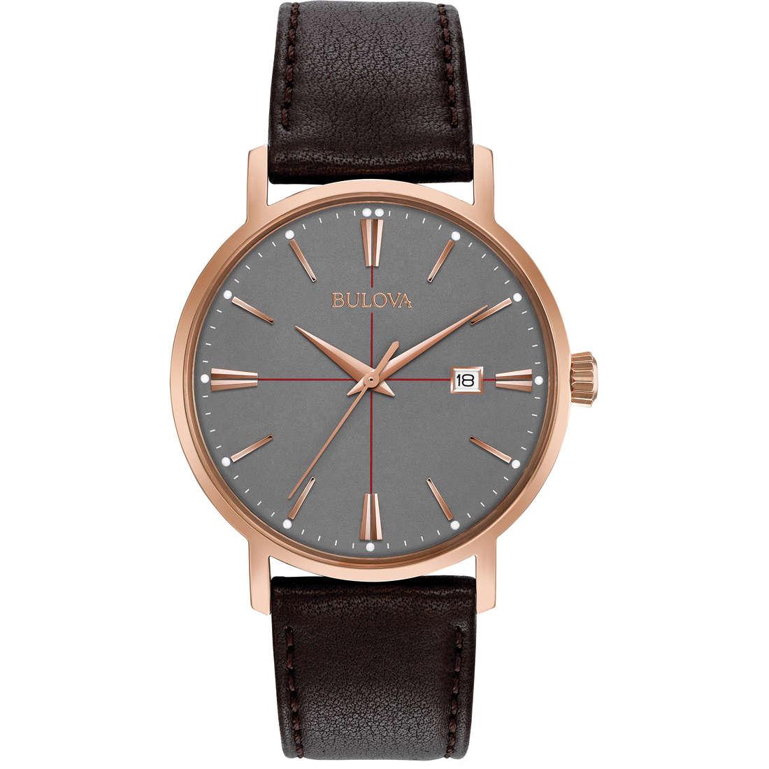 watch only time man Bulova Classic 97B154