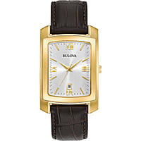 watch only time man Bulova Classic 97B162