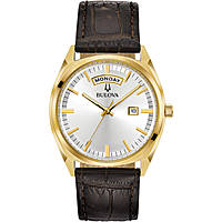 watch only time man Bulova Day Date 97C106