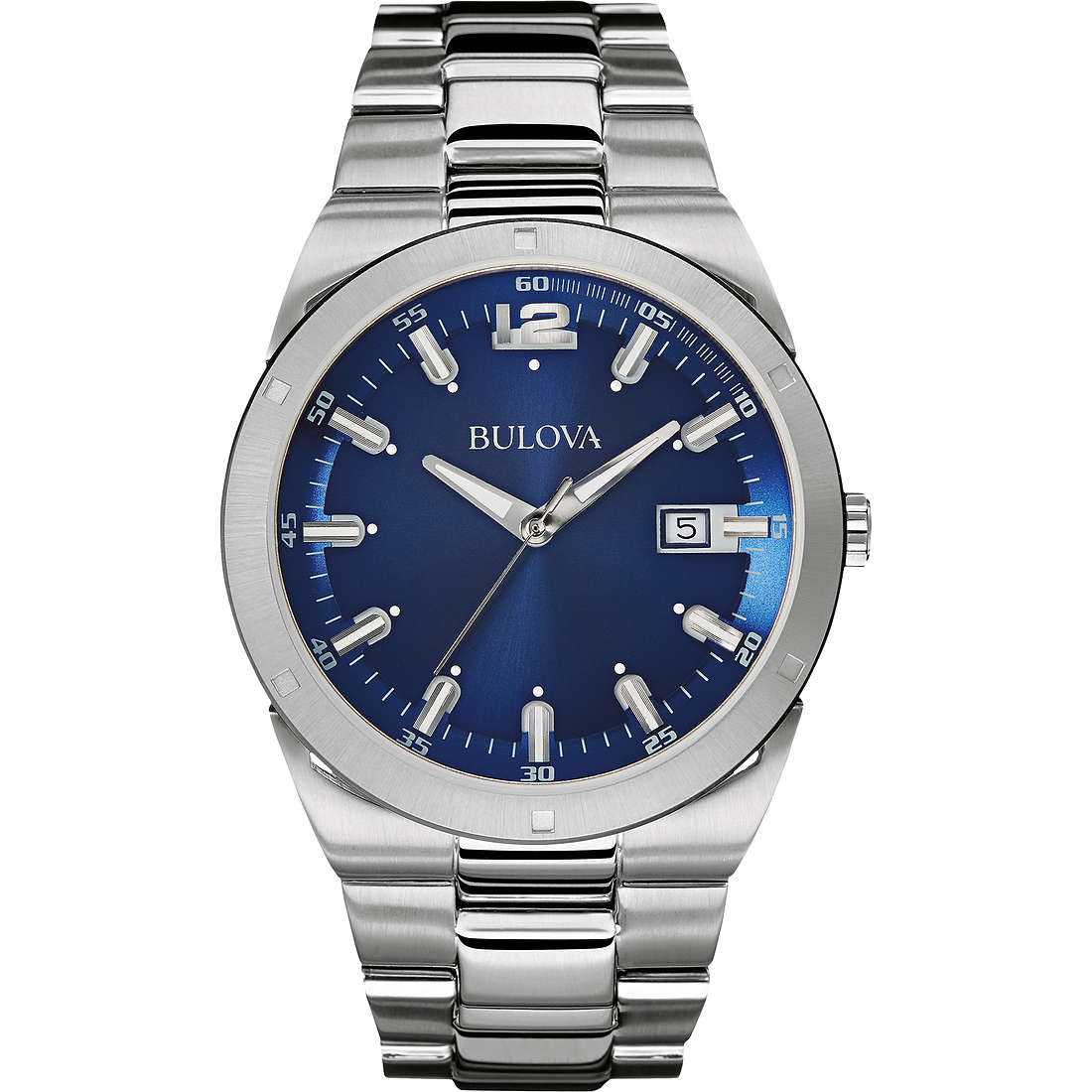 watch only time man Bulova Dress 96B220