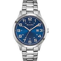 watch only time man Bulova Dress 96B273