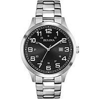 watch only time man Bulova Dress 96B274