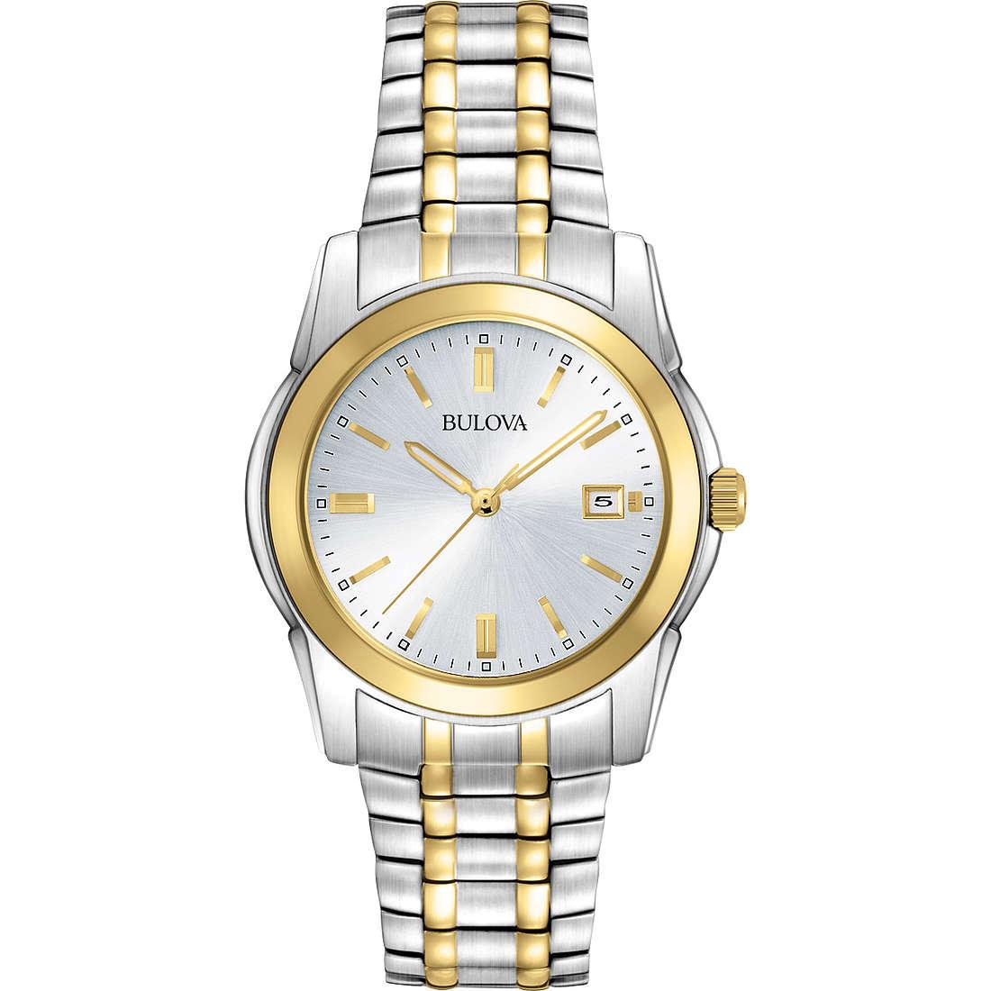 watch only time man Bulova Dress 98H18