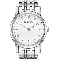 watch only time man Bulova Dress Duets 96A115