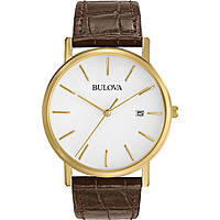 watch only time man Bulova Dress Duets 97B100
