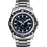 watch only time man Bulova Marine Star 98B177
