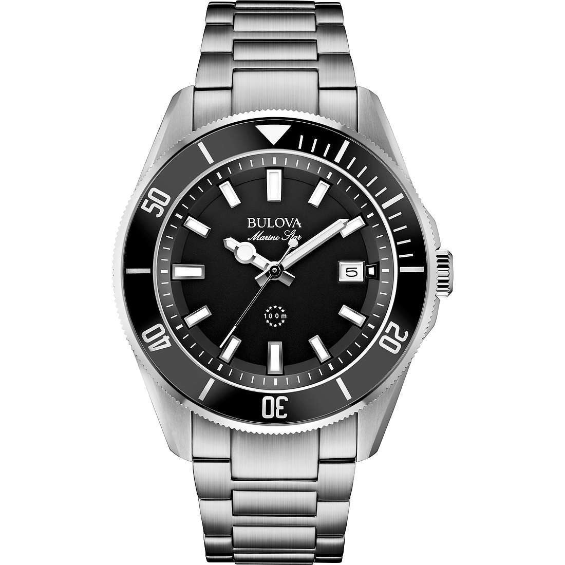 watch only time man Bulova Marine Star 98B203