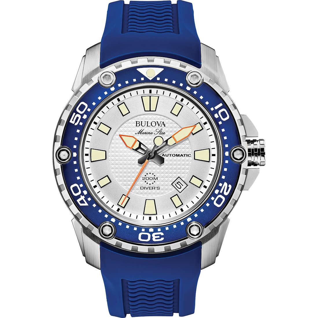 watch only time man Bulova Marine Star 98B208