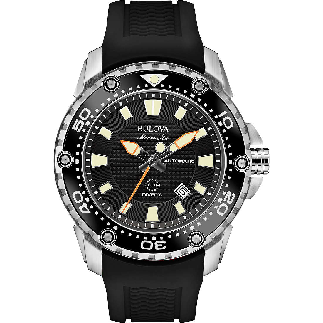 watch only time man Bulova Marine Star 98B209