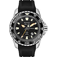 watch only time man Bulova Marine Star 98B209