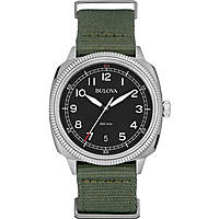 watch only time man Bulova Military Vintage 96B229