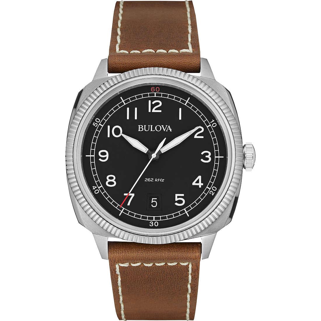 watch only time man Bulova Military Vintage 96B230