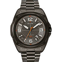 watch only time man Bulova Pilot 98B225