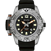 watch only time man Bulova Sea King 96B226