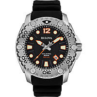 watch only time man Bulova Sea King 96B228