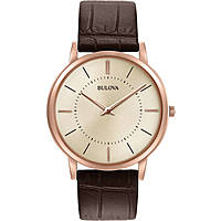 watch only time man Bulova Ultra Slim 97A126