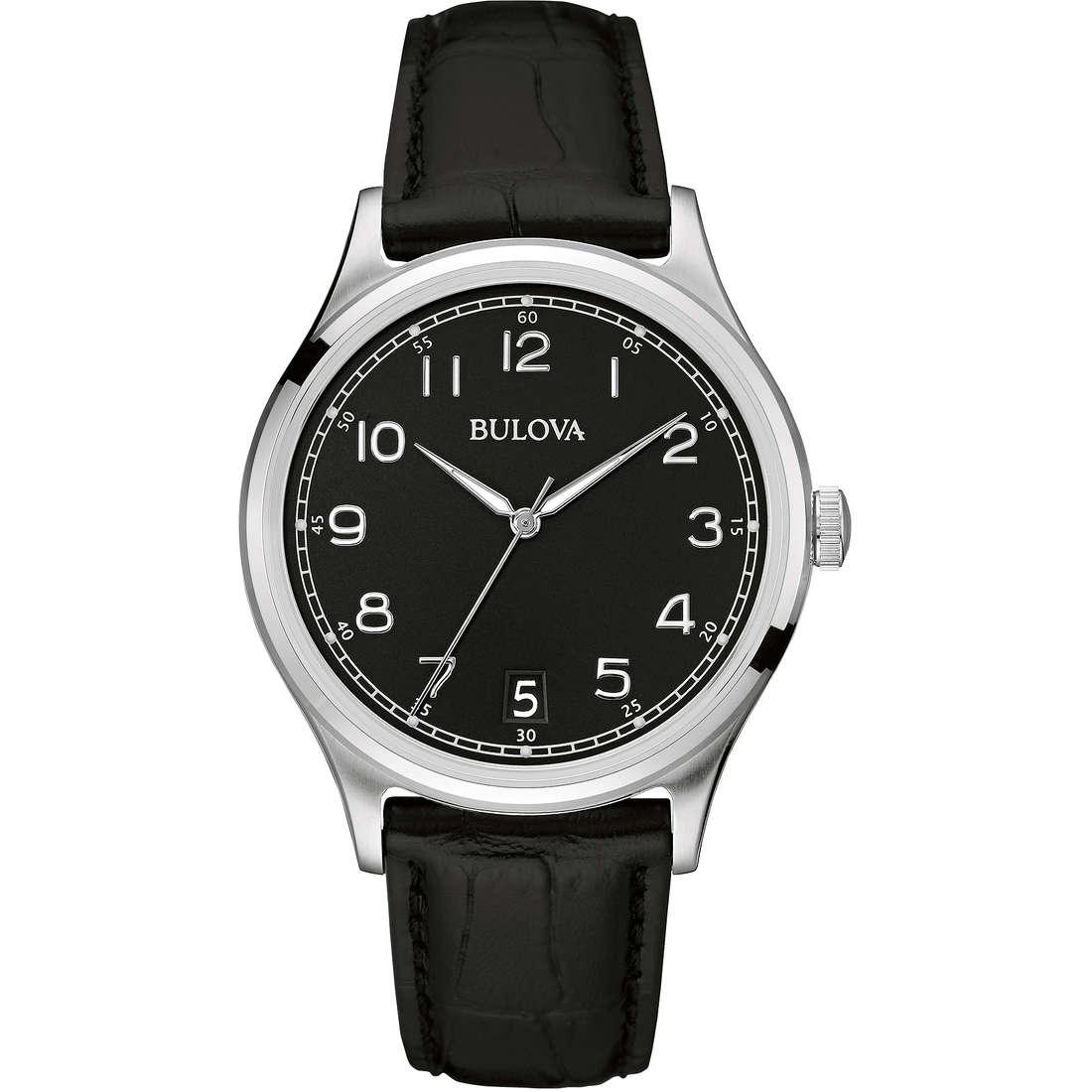 watch only time man Bulova Vintage 96B233