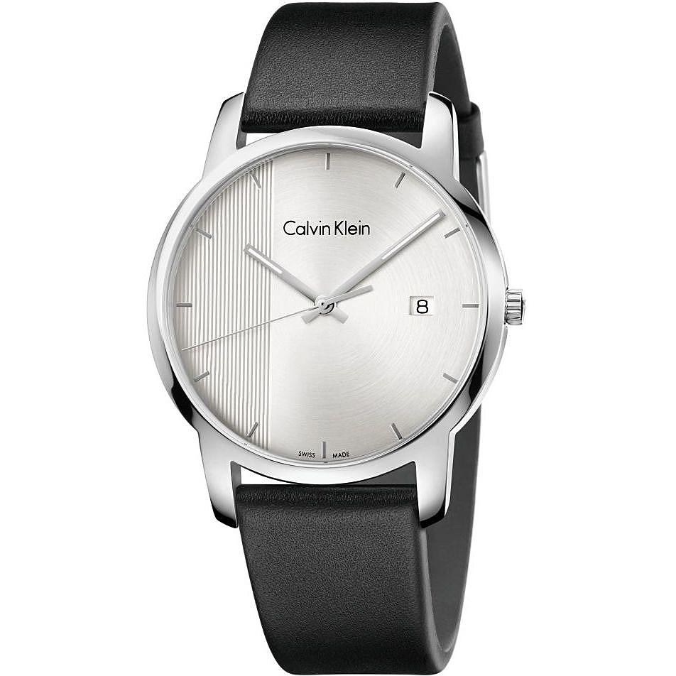 e325a5e6f watch only time man Calvin Klein City K2G2G1CX only time Calvin Klein