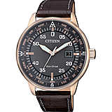 watch only time man Citizen Aviator BM7393-16H