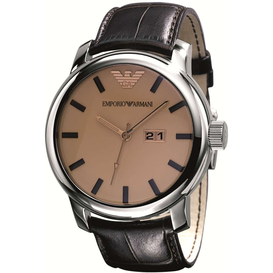 watch only time man Emporio Armani AR0429