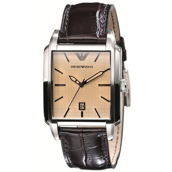 watch only time man Emporio Armani AR0477
