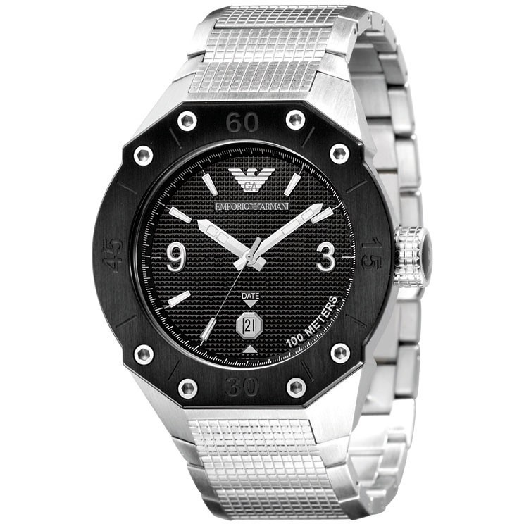 watch only time man Emporio Armani AR0663