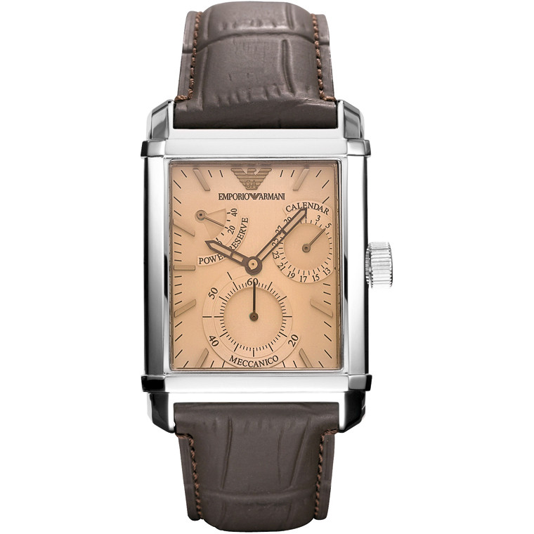 watch only time man Emporio Armani AR4236