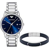 watch only time man Emporio Armani Combo Box Luigi Slim AR8033