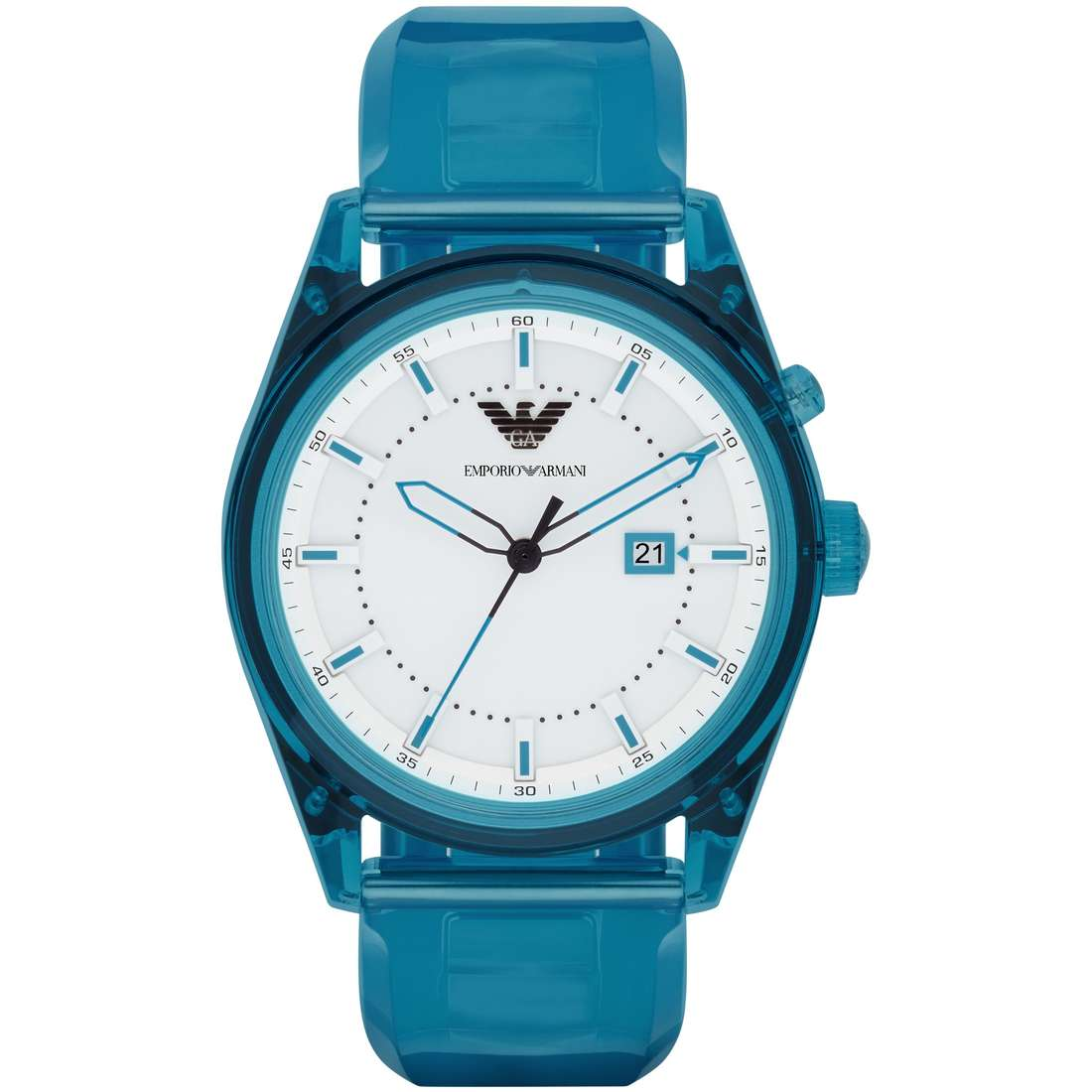 watch only time man Emporio Armani Light AR1072