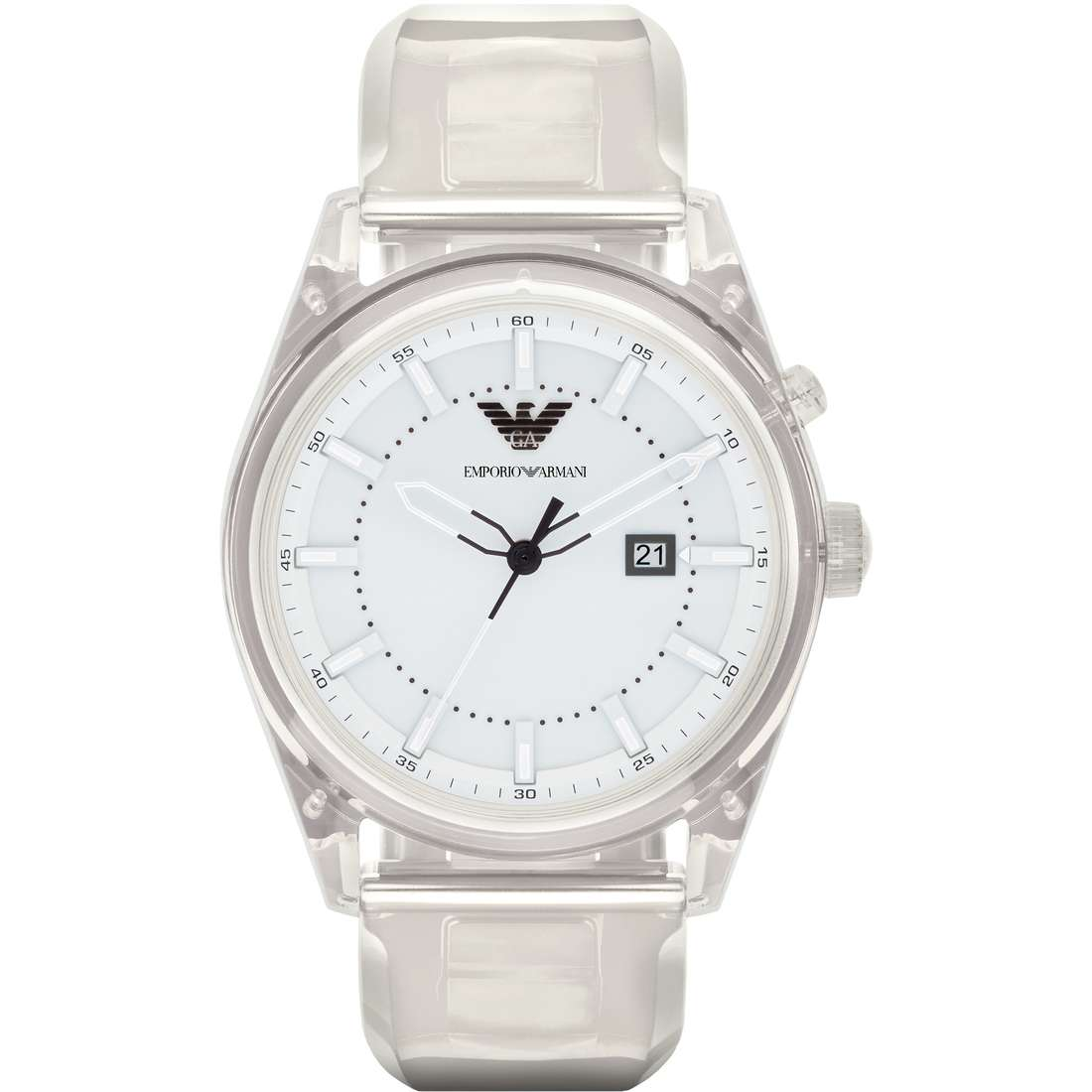 watch only time man Emporio Armani Light AR1073
