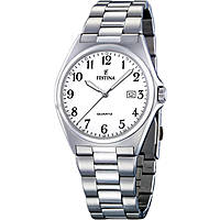 watch only time man Festina Acero Clasico F16374/1