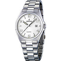 watch only time man Festina Acero Clasico F16374/5