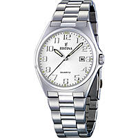 watch only time man Festina Acero Clasico F16374/6