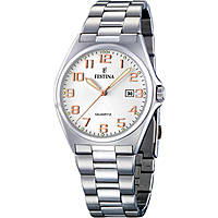 watch only time man Festina Acero Clasico F16374/7