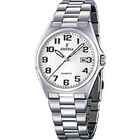 watch only time man Festina Acero Clasico F16374/9