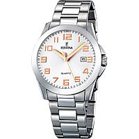 watch only time man Festina Acero Clasico F16376/3