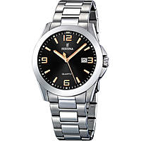 watch only time man Festina Acero Clasico F16376/6