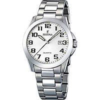 watch only time man Festina Acero Clasico F16376/7