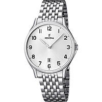 watch only time man Festina Acero Clasico F16744/1