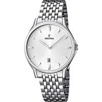 watch only time man Festina Acero Clasico F16744/2
