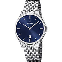 watch only time man Festina Acero Clasico F16744/3