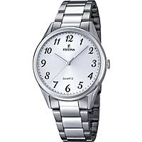 watch only time man Festina Acero Clasico F16875/1