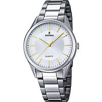 watch only time man Festina Acero Clasico F16875/4