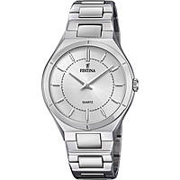 watch only time man Festina Acero Clasico F20244/1