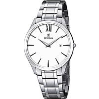 watch only time man Festina Acero Clasico F6832/1
