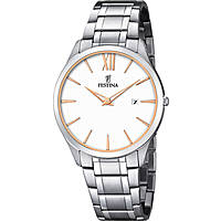 watch only time man Festina Acero Clasico F6832/3