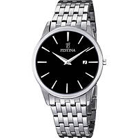 watch only time man Festina Acero Clasico F6833/2