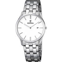 watch only time man Festina Acero Clasico F6840/2